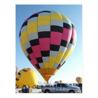 Het festival van de hete luchtBallon Wens Kaart