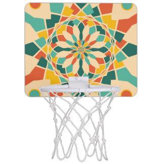 Het festival van de zomer mini basketbalring