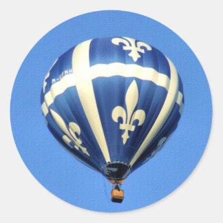 Het Festival van Gatineau van de Ballon van de Ronde Sticker