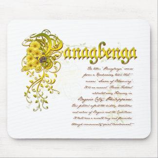 Het Festival van Panagbenga in Elegant Bloemrijk Muismatten