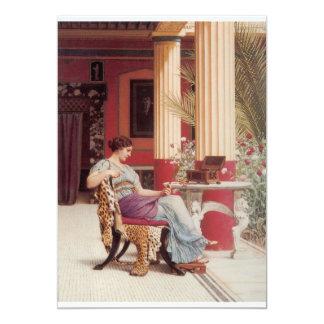 Het fijne Art. van de Kist van het Juweel 12,7x17,8 Uitnodiging Kaart