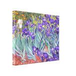 Het Fijne Art. van de Paarse Irissen van Vincent Gallerij Wrapped Canvas