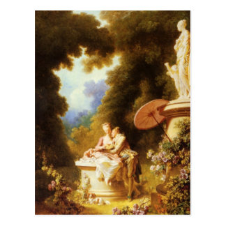 Het Fijne Art. van Jean-Honoré Fragonard Briefkaart