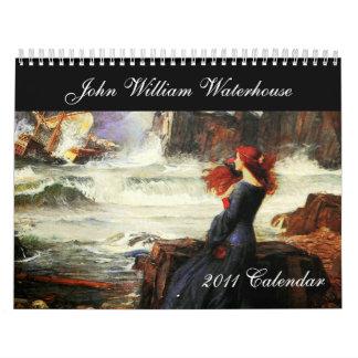 Het fijne Art. van John William Waterhouse Kalender