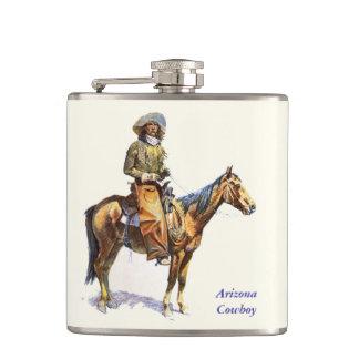 Het Fijne Art. van Remington van de Cowboy van Ari Heupfles