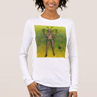 Het Fijne Jersey Lange Sleeve T van de koffiebar T Shirts
