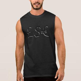 Het financiële Ontwerp van de Symbolen van de Munt T Shirt
