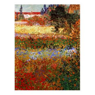 Het Fine Art. het bloeien van de Tuin (F430) Van Briefkaart