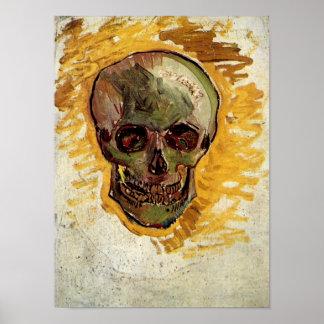 Het Fine Art. van de schedel van het Stilleven Poster