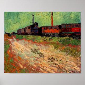 Het Fine Art. van de spoorweg van het Vervoer Poster
