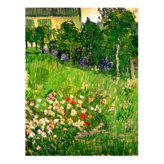 Het Fine Art. van de Tuin van Daubigny Van Gogh Briefkaart