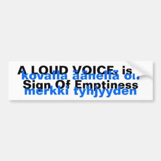 Het Finse Gezegde Yooper Stickers van de vertaal v