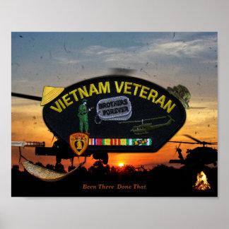 Het Flard van de Veteranen van de Dierenartsen van Poster