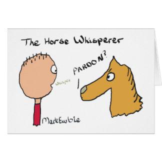 Het Fluisteren van het paard Briefkaarten 0