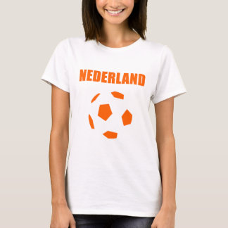Het football retro t-shirts van Nederland