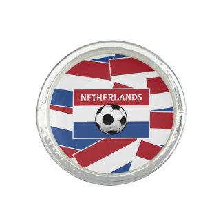 Het Football van de Vlag van Nederland Ring