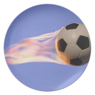 Het Football van de vlam Melamine+bord