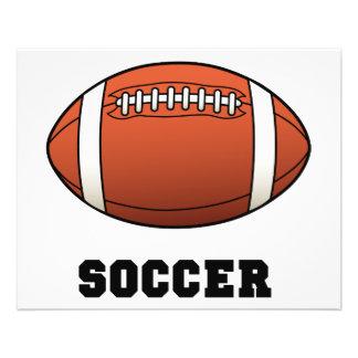 Het Football van Futball van het voetbal Folders