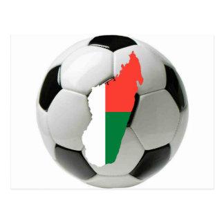 Het footballvoetbal van Madagascar Briefkaart