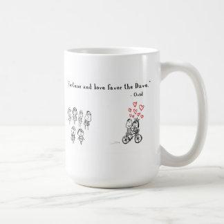 Het fortuin en de liefde keuren Dave goed Koffiemok
