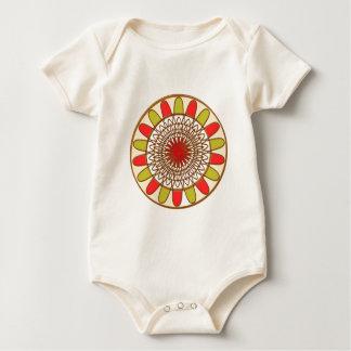 Het Fortuin Gelukkige Chakra Mandala van de Baby Shirt