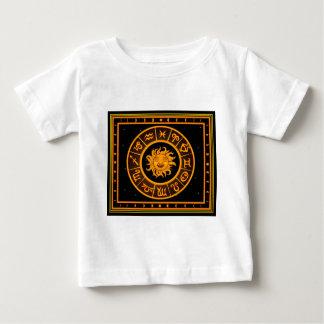 het fortuin van de de constellatiedierenriem van baby t shirts