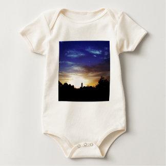 Het Fortuin van Europes van de zonsondergang Baby Shirt