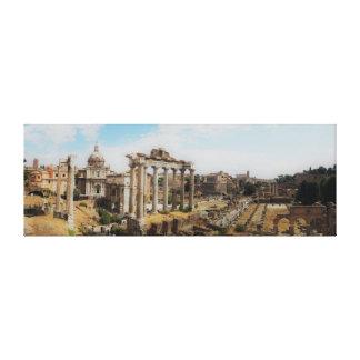 Het forum - Rome Italië - Panorama Canvas Print