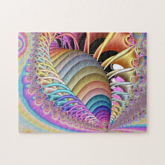 Het Fractal van Shell Art. Legpuzzel