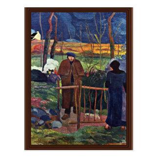 Het Frans: Bonjour Monsieur Gauguin (ii), Goede Briefkaart