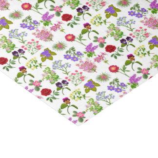Het Franse BloemenPapieren zakdoekje van de Tuin Tissuepapier