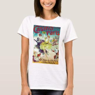 Het Franse cabaret Parijs van de vintage T Shirt