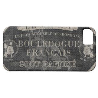 Het Franse Hoesje van iPhone van de Buldog