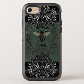Het Franse Koele Beschermende Monogram van de Bij OtterBox Symmetry iPhone 8/7 Hoesje