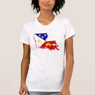 Het Franse Land van Louisiane Acadiana Cajun van T Shirt