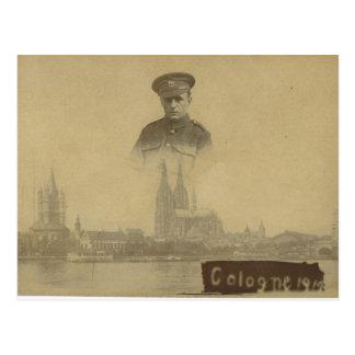 Het Franse Leger Keulen 1919 van het Beroep Briefkaart