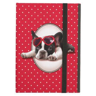 Het Franse Puppy van de Buldog iPad Air Hoesje