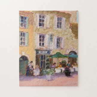 Het Franse Raadsel van de Koffie Foto Puzzels
