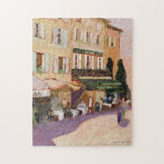 Het Franse Raadsel van het Dorp Puzzel