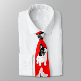 Het Franse Rood van Kerstmis van Frenchies van Stropdassen