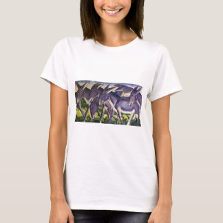 Het Fries van de ezel door Franz Marc T Shirt