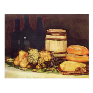 Het fruit van het Stilleven van Francisco Goya-, Briefkaart