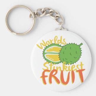 Het Fruit van Stinkiest Sleutelhanger