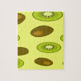 Het fruitpatroon van de kiwi foto puzzels