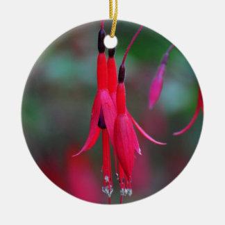 Het fuchsiakleurig Ornament van Kerstmis van de