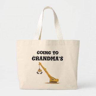 Het gaan naar de Zak van de Oma/van de Opa Grote Draagtas