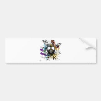 Het Gas Mask3 van Grunge Bumpersticker