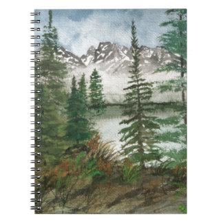Het Gat Jenny Lake van Jackson Ringband Notitieboek