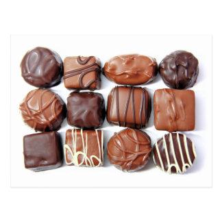 Het geassorteerde Briefkaart van de Chocolade