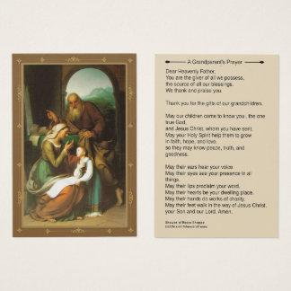 Het Gebed Anne Joachim Mary van grootouders Visitekaartjes